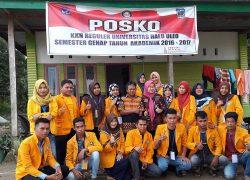 Tim Monev Kunjungi  Mahasiswa KKN UHO di Desa Lalowura